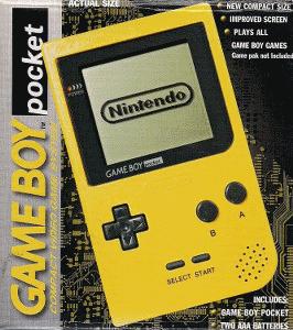 OVP des gelben GB Pockets