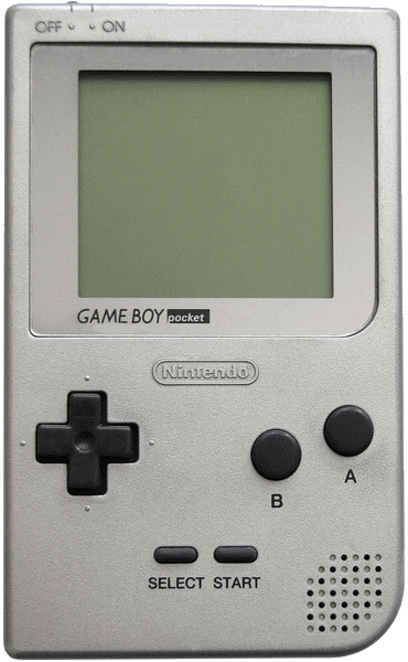 Game Boy Pocket in silber